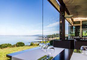 Restaurante el Pinar en Perbes, Miño. Un entorno increible para tus comidas, cenas o celebraciones. Restaurante de marisco en A Coruña