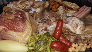 Restaurante El Pinar A Coruña: cocido