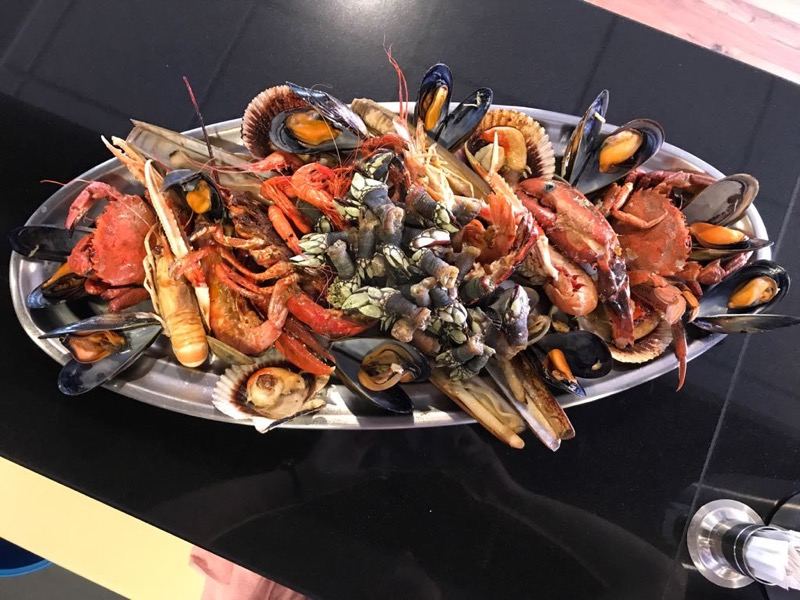 Parrillada de marisco Restaurante El Pinar