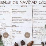 Menús Navidad 2020